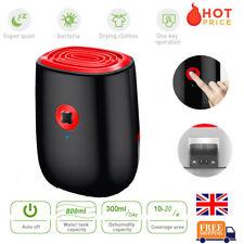 800ML Electric Dehumidifier Home Air Dryer Damp Moisture Bedroom Kitchen UK Plug