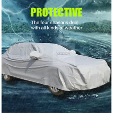 S Full Size Large Car Cover UV Protection Waterproof Breathable Universal