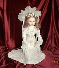Bebe Steiner Puppe,Viktorianische Braut, Künstlerpuppe, Franklin Mint Doll FHD