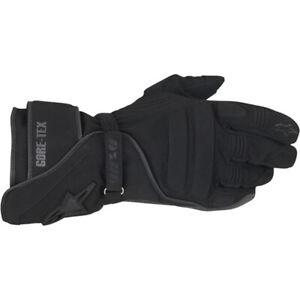 NEW Alpinestars MX WR-V GTX Black Road Gloves