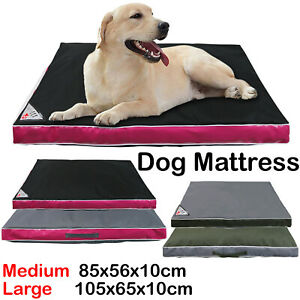 Waterproof Dog Cushion,Mojo Brand Pet Bed, Mattress, Scratch / Tear Proof Cover.