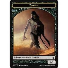 4x MTG Token - Zombie (Liliana's Mastery) NM - Amonkhet