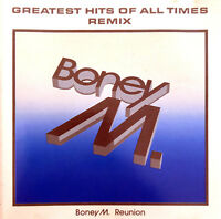 Boney M. Reunion CD Greatest Hits Of All Times - Remix - Germany (EX/M)