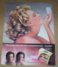 1983 print ad page - LILT perm CUTE girl blonde hair curls Procter Gamble ADVERT