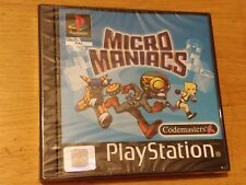 MICRO MANIACS UK PAL VERSION (PS1) BRAND NEW AND FACTORY SEALED