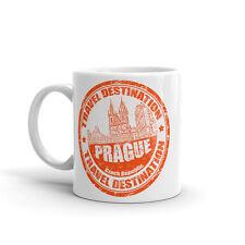 Prague République Tchèque haute qualité 10 oz (environ 283.49 g) Café Thé Tasse #5908