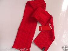 Cache nez écharpe ESPRIT pour fille et garçon 45% coton rouge NEUF scarf girl