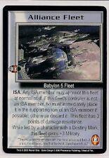 Babylon 5 Ccg Wheel of Fire Rare Alliance Fleet Nm