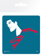 Untersetzer / Coaster SUPERMAN - Simple / Blue (DC Comics) Kork 9x9cm 125 NEU