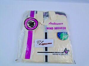 Vintage Arctic Cat Windbreaker Jacket Early 60's / 70's ? Arcticwear LG 0180-108