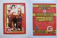 2015 SCA Tim Bernhadt Calgary Flames goalie never issued produced #d/10 rare