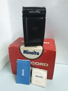 Antique Minolta AUTOCORD III Rokkor 75mm f/3.5 TLR Film Camera From Japan
