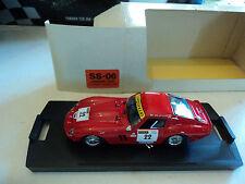Box Model 1/43 Ferrari 250 GTO #22 Targa Florio 1989