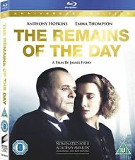 THE REMAINS OF THE DAY [Blu-ray] (1993) Anthony Hopkins Movie, Kazuo Ishiguro
