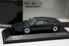 Minichamps 1/43 - BMW M1 Bleue