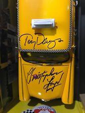 Christopher Lloyd Tony Danza Signed Taxi Cab Diecast Car 1:18 Scale JSA NIB