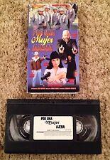 Por Una Mujer Ajena - VHS Video Tape - VERY Rare