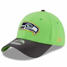SEATTLE SEAHAWKS NFL GOLD COLLECTION ON FIELD GREEN NEW ERA 39THIRTY HAT/CAP NWT