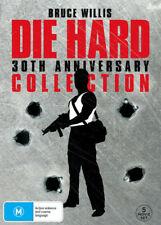 Die Hard 30th Anniversary Collection 5 Movie DVD Bruce Willis Region 4