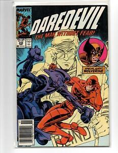 Daredevil 248 Comic Book Nocenti Leonardi Special Appearance Of Wolverine