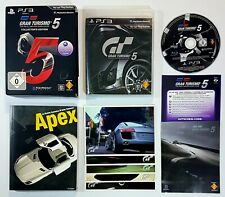 SONY PlayStation 3 GRAN TURISMO 5 COLLECTOR'S EDITION dt. PAL Ovp Rennspiel