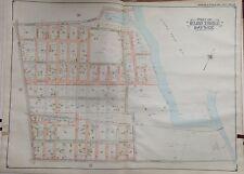 ORIGINAL 1904 E. BELCHER HYDE BAYSIDE, QUEENS, NY LONG ISLAND PLAT ATLAS MAP
