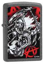 Zippo Lighter ● SOA Sons Of Anarchy Reaper Iron Stone ● 60003940 New OVP ● A293