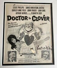 More details for james robertson justice joan sims leslie carry on signed autograph pow#99