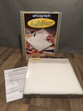 "Artograph Light Tracer 10"" x 12"" Light Box 225-365 Crafts Drawing Euc"
