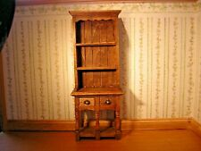 1/12th Dollshouse Miniature Hand Stained and Polished 2 drawer Dresser