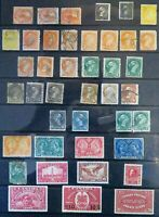 *Kengo* vintage Canada stamp lot of 41 high values mixed M/U CV$648 @200