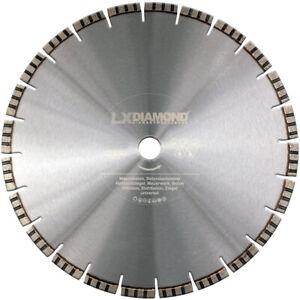 LXDIAMOND Diamant-Trennscheibe 350 mm x 20,0 Stahl-Beton Scheibe Motoflex Ziegel