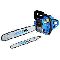 """Blue Max 8901 Gas Powered 14 Inch and 20"""" Chainsaw, Blue (Non-CARB Compliant"""