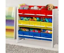 Baby Kids Storage Bedroom Playroom Fabric Toy Box Drawer Tubs Bin Organiser