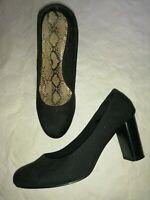 chaussures femme soirée noir velour 38 escarpins