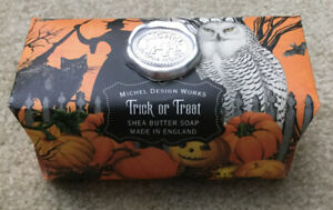 MICHEL DESIGN WORKS TRICK OR TREAT SOAP WITH SHEA BUTTER 8.7 OZ PUMPKIN SPICE