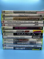 Lot Of 13 Xbox 360 Games. Halo Dead Island Call Of Duty & Others Untested. T39