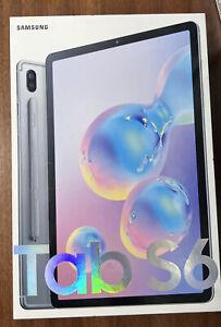 Samsung Galaxy Tab S6 128GB WiFi Mountain Gray Neu OVP SM-T860