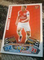 TOPPS MATCH ATTAX 2011/2012 - #013 Andrey Arshavin - Arsenal 11/12
