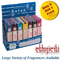 Genuine Satya Nag Champa Incense Sticks Joss Sticks Mixed Scents 15g from 0.99p