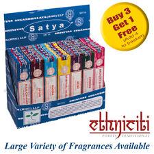 Genuine Satya Nag Champa Incense Sticks Joss Sticks Mixed Scents 15g from 0.99p