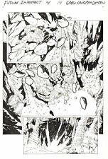 Future Imperfect #4 p.14 - Maestro vs. Ulik Action - 2015 art by Greg Land