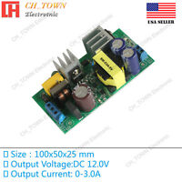 AC-DC 12V 3.0A 30W Power Supply Buck Converter Step Down Module High Quality USA