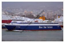 mp334 - Greek Ferry - Blue Star Itaki  , built 2000 - photo 6x4