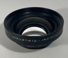 Schneider Kreuznach Symmar-S 210mm f/5.6 Large Format Front Camera Lens