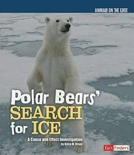 Polar Bears' Search for Ice (Fact Finders)-ExLibrary