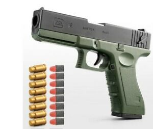 M1911 Soft Bullet Toy Gun Pistol Shell Ejection Spring Outdoor Sports Fun