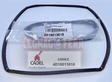 GUARNIZIONE PER STUFA A PELLET CADEL MARTINA 346X275 mm ORIGINALE 4D18013018