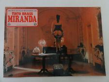 #Erotik #Aushangfoto MIRANDA Tinto Brass Serena Grandi