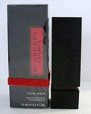 Burberry SPORT for Men 75ml EdT Eau De Toilette NEU Folie ! Selten ! TOP SELTEN!